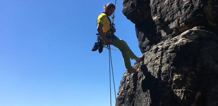 Sváteční lezení – Lom Gabrielka